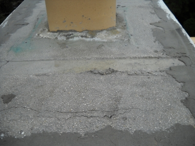 17 years damage from water infiltration, through stucco & concrete
